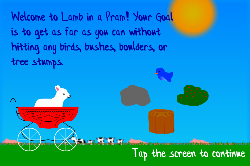 Lamb in a Pram Tutorial
